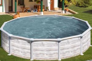 Каркасный бассейн GRE PR358NMAG круглый 350x132 см