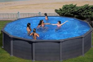 Круглый каркасный бассейн 460х132 см GRE KITPR458GFMAG