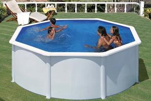 Круглый каркасный бассейн 300х120 см FIDJI GRE P300ECO