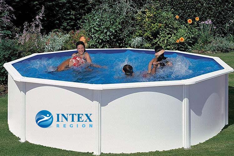 Каркасный бассейн GRE KIT350ECO круглый 350х120 см