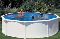 Круглый каркасный бассейн 350х120 см FIDJI GRE P350ECO