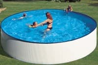 Круглый каркасный бассейн 350х90 см LANZAROTE KITWPR352E