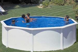 Круглый каркасный бассейн 460х120 см FIDJI GRE P460ECO
