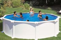 Круглый каркасный бассейн 460х132 см ATLANTIS GRE PR458