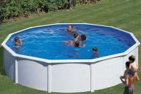 Круглый каркасный бассейн 550х120 см FIDJI GRE P550ECO