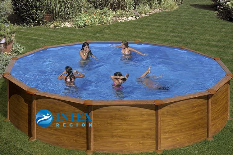Каркасный бассейн GRE KITPR558WO круглый 550x132 см