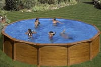 Круглый каркасный бассейн 550x132 см MAURITIUS GRE KITPR558WO