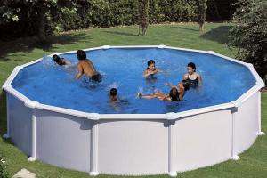 Круглый каркасный бассейн 550х132 см ATLANTIS GRE PR558
