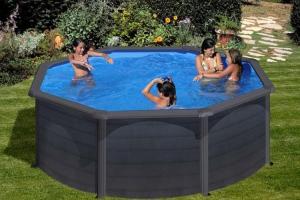 Круглый каркасный бассейн 460х120 см KEA GRE P460GF