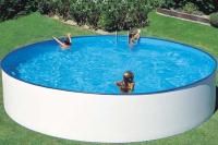 Круглый каркасный бассейн 450х90 см LANZAROTE KITWPR452E