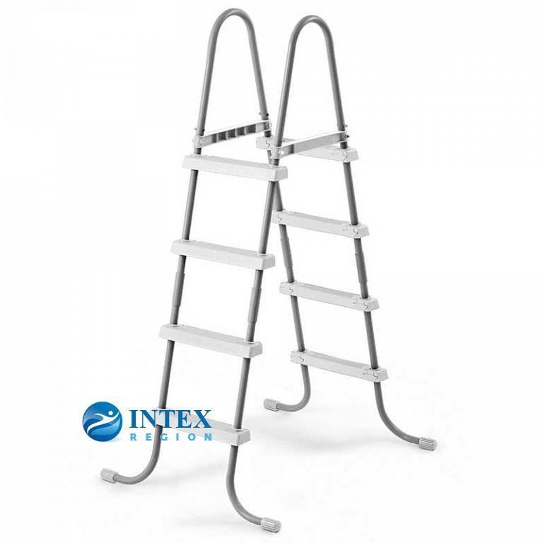 Лестница для бассейнов до 122 см, 4 ступеньки, без площадки Intex 28066