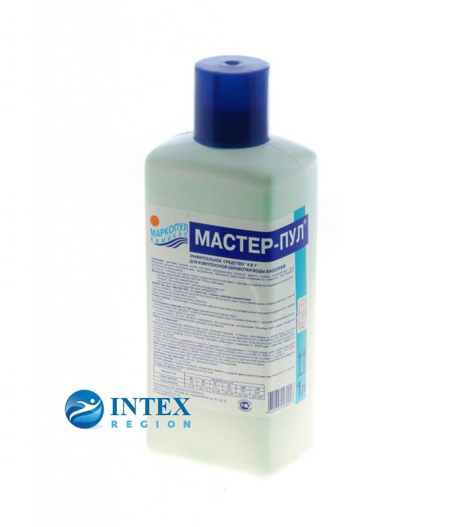 Мастер-Пул 4 в 1 жидкое средство Маркопул Кемиклс