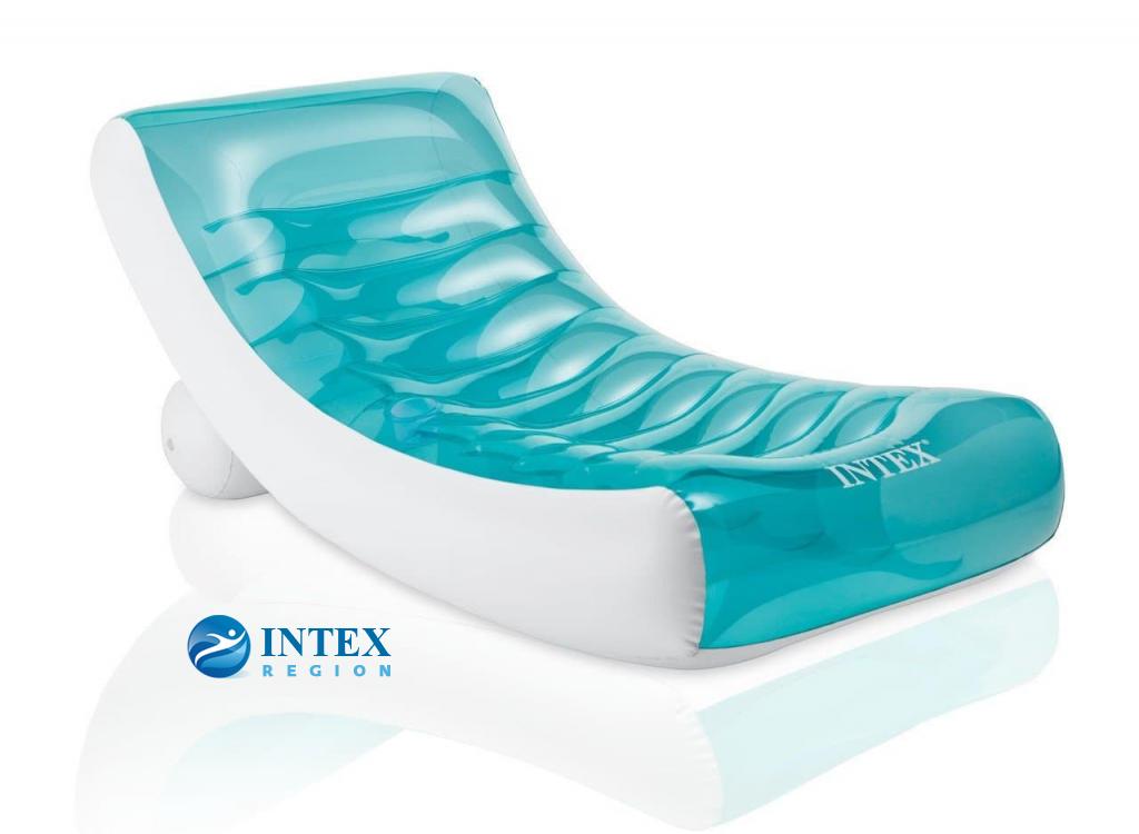 Надувное кресло-шезлонг Intex арт.58856 188х99см
