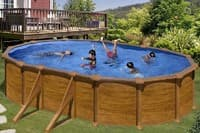Каркасный бассейн GRE KITPROV508WO овальный 500x300x132 см