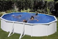 Овальный каркасный бассейн 500х300х120 см FIDJI GRE P500ECO