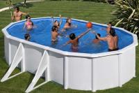 Овальный каркасный бассейн 500х300х132 см ATLANTIS GRE KITPROV508