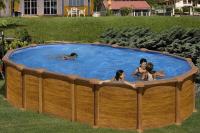 Каркасный бассейн GRE PR6188WOMAG овальный 610x375x132
