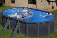 Овальный каркасный бассейн 610x375x132 см GRANADA GRE KITPROV618GF