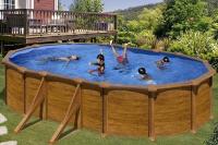 Каркасный бассейн GRE KITPROV618WO овальный 610x375x132 см