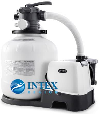 Песочный фильтр-насос 10000 л/ч + хлоргенератор Intex 26680