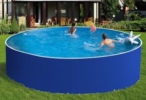 Сборный бассейн ЛАГУНА 54917 круглый 549х125 см (синий)