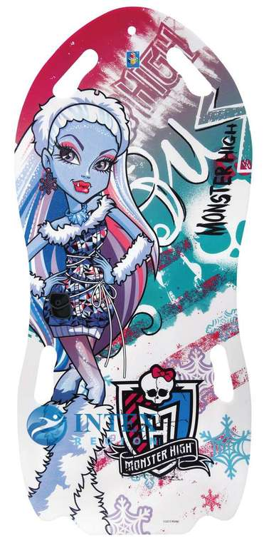 Ледянка Monster High Т56337 122х0,5см д/двоих