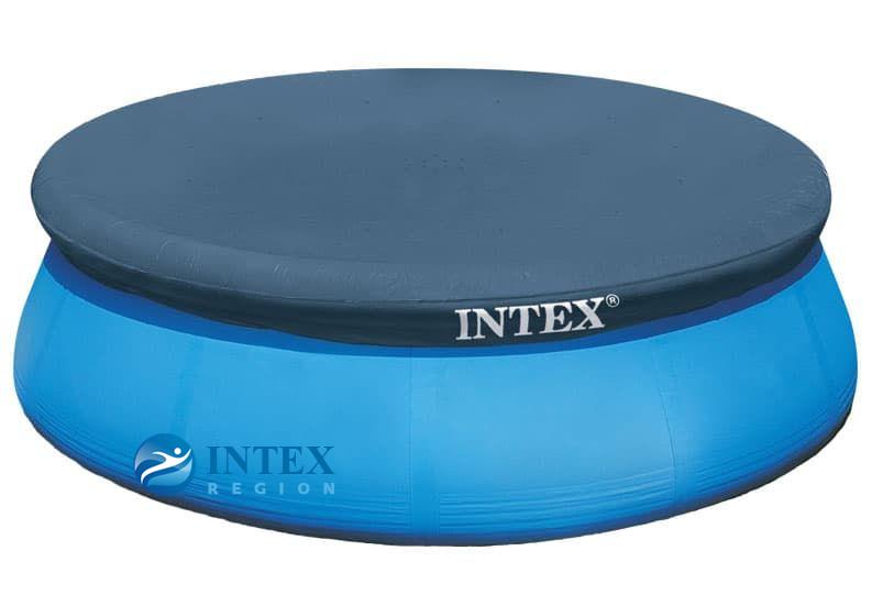 Тент ( покрывало ) Intex арт. 28026 для надувных бассейнов диаметром 396 см