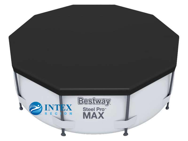 Тент-покрывало Bestway 58036 для круглых каркасных бассейнов 305 см