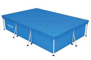 Тент-покрывало Bestway 58106 для прямоугольных каркасных бассейнов 300х201 см