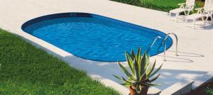 Сборный бассейн Summer Fun 4501010163KB овальный 700х300х120 см