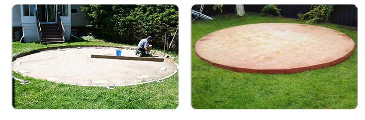 Подготовка площадки и основания для бассейна